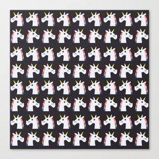 I Love Unicorns Canvas Print