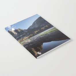 Sunrise over Yosemite Falls Notebook