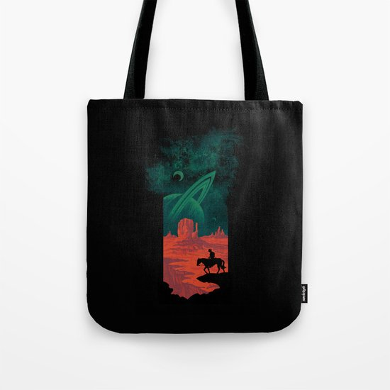 Final Frontiersman Tote Bag