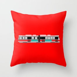 Toronto TTC (ALRV) Streetcar Throw Pillow