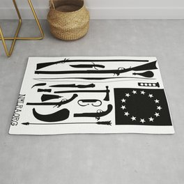 Tools of the American Revolution Rug