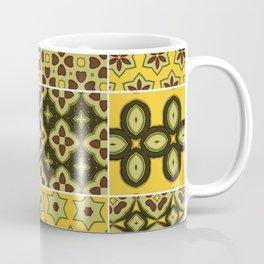 Yellow and Brown Floor Tile Coffee Mug