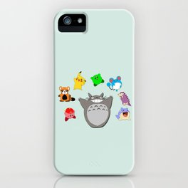 Video game Anime Character Rainbow iPhone Case