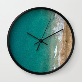 Kayaker on NaPali Coast Wall Clock