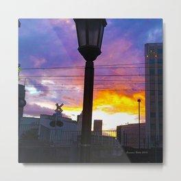 Sunset at Union Station - LA Baby - Jeronimo Rubio Photography 2016 (all over) Metal Print