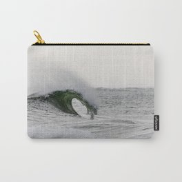 Wave Curling off Fire Island Carry-All Pouch