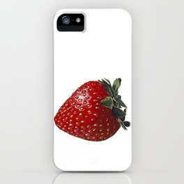 A Strawberry, Out of the Universe iPhone Case
