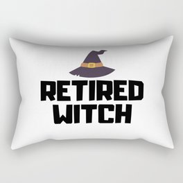 Retired Witch Rectangular Pillow