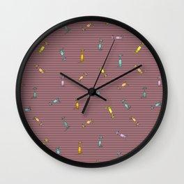 Candy Cats II Wall Clock