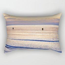Sunset on the Horizon V Rectangular Pillow