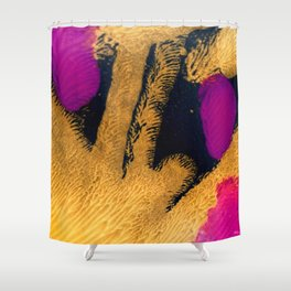 Fifty shades of Gold Shower Curtain