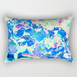 BLUE NEMESIA Rectangular Pillow
