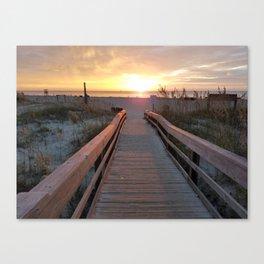 Good Morning Tybee Island Canvas Print