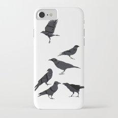kargalar (crows) Slim Case iPhone 8