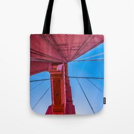 Up The Golden Gate Tote Bag