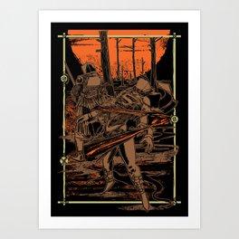 SAMURAI 3 Art Print