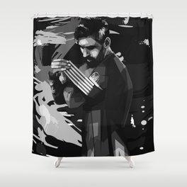 Lionel on WPAP Pop Art Shower Curtain