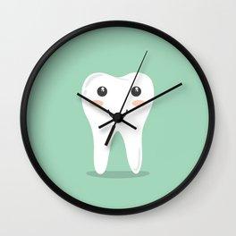 Cute Teeth Wall Clock
