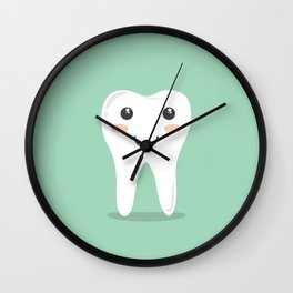 Cute Teeth Wall Clock