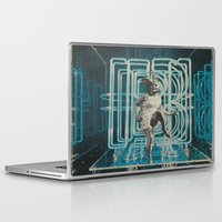 neon Laptop & iPad Skins featuring Neon by Imogen Art