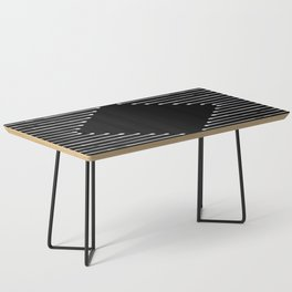 Geo / Black Coffee Table