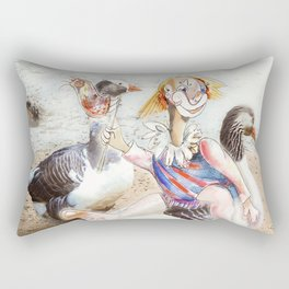 Outing With Friends Rectangular Pillow