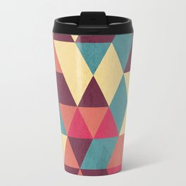 TRIANGLES RED Travel Mug