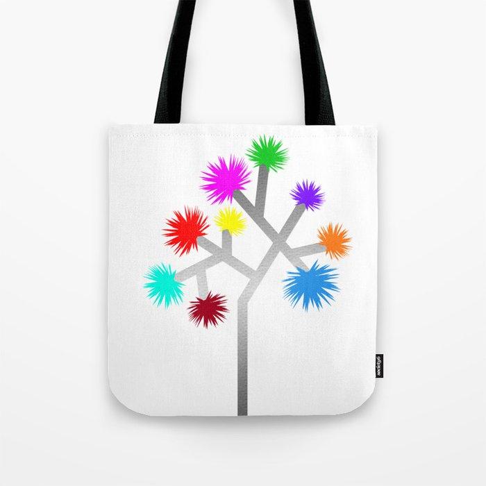 Joshua Tree Pom Poms by CREYES Tote Bag