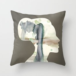 Bone Throw Pillow