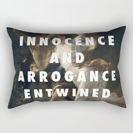 My Storm Was Made For You Rectangular Pillow