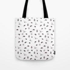 Grey Hedgehogs Tote Bag