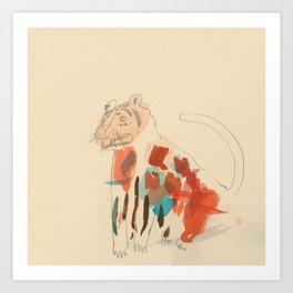 Rare Tiger Art Print