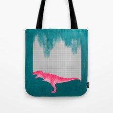 DinoRose - pinky tyrex Tote Bag