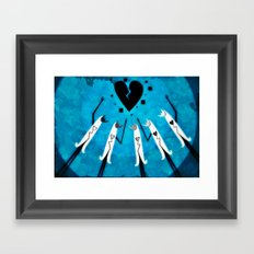 The Heart Breakers Framed Art Print