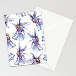 GLOWY ORCHIDS Stationery Cards