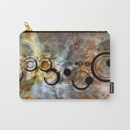 Doctor Who Allons-y Gallifrey with the Carina Nebula  Carry-All Pouch