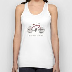 the most badass bicycle ever Unisex Tank Top