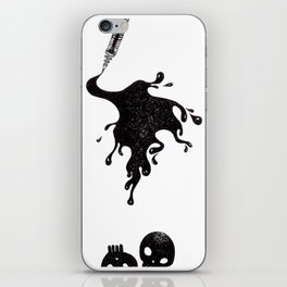 Inkblot iPhone Skin