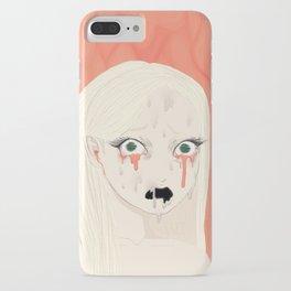 Dissolving Keiko Arisu iPhone Case