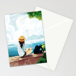 Trip to the sea Stationery Cards