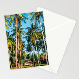 Tropic village Stationery Cards