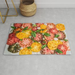 Heirloom Tomatoes Rug