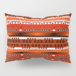 Ethnic stripes. Tribal pattern Indians. Pillow Sham