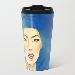 Oriental silk Travel Mug