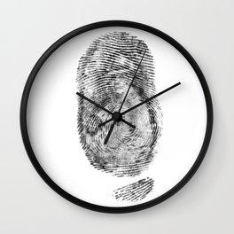Detective Thumb Wall Clock