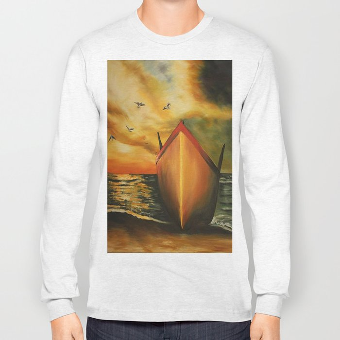 offset the coast Long Sleeve T-shirt