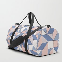 Shifting geometric pattern Duffle Bag