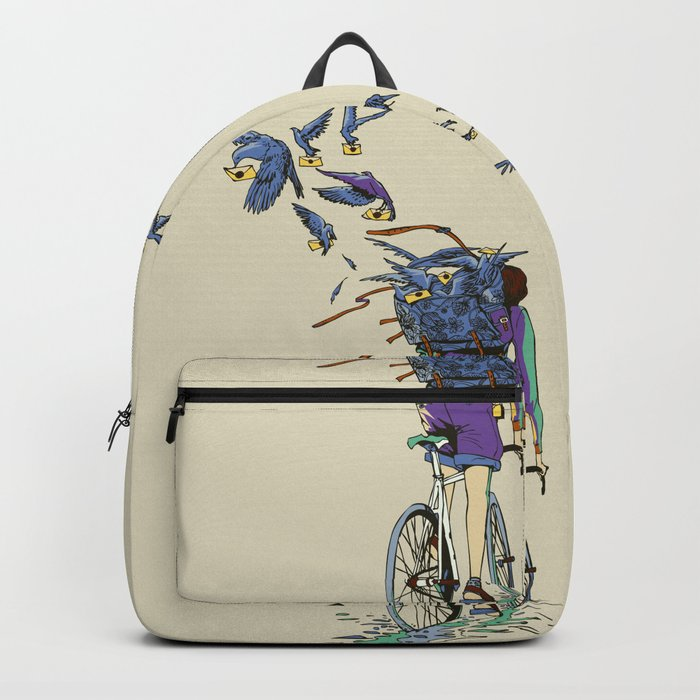 TweetJourney Backpack