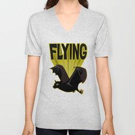 Flying Unisex V-Neck