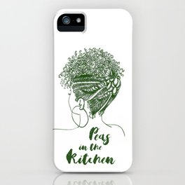 Peas in the Kitchen iPhone Case